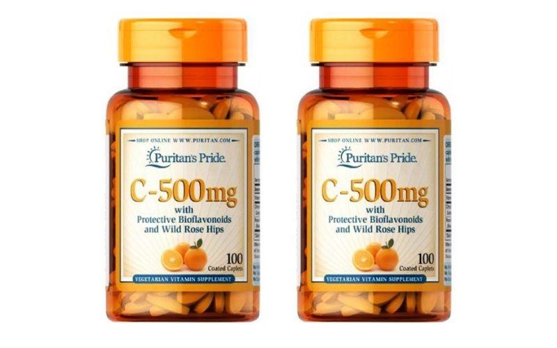 Vitamin C 500mg Puritan's Pride