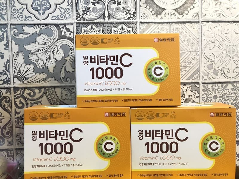 Vitamin C 1000mg Hàn Quốc dạng vỉ