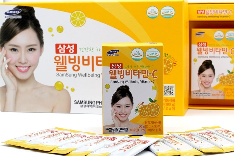 Bột uống Samsung Wellbeing bổ sung vitamin C