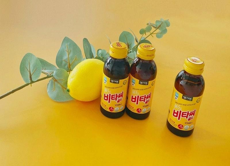 Nước uống bổ sung 365X vitamin C Gold