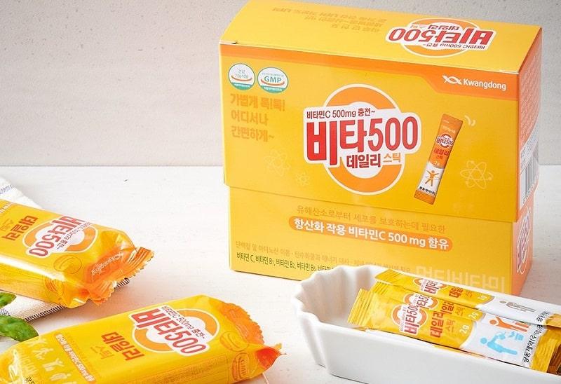 Stick Vitamin C 500mg Kwangdong
