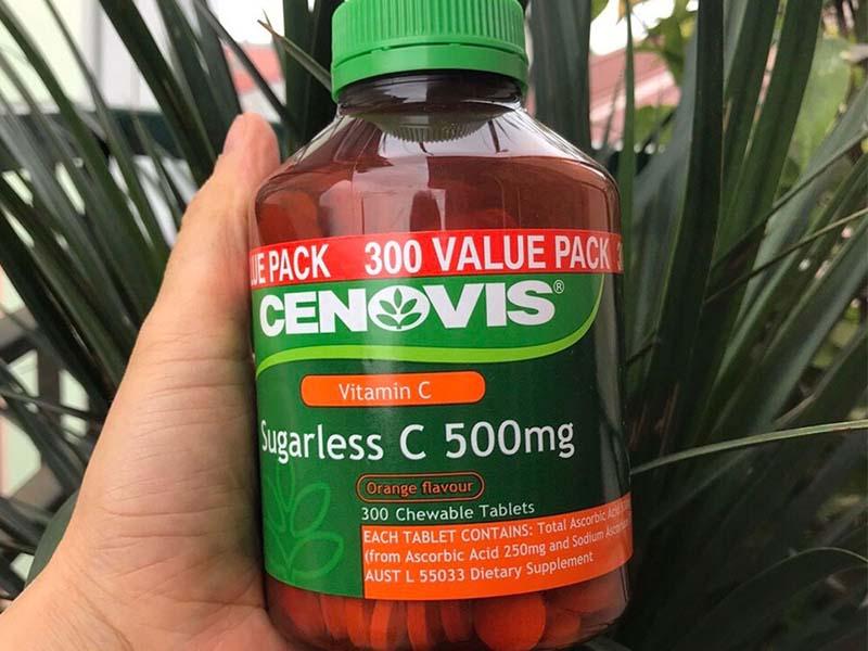 Cenovis Sugarless C 500mg