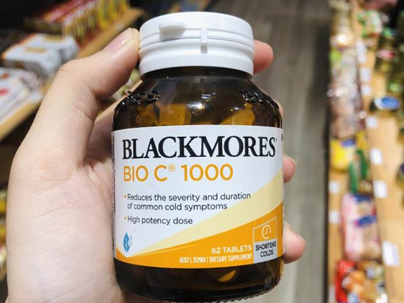 Viên bổ sung vitamin C Blackmores Bio C