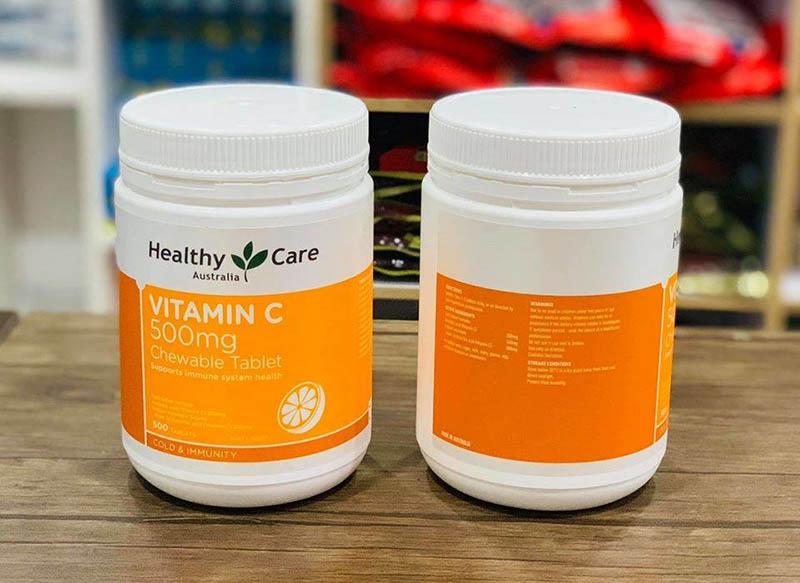Healthy Care Vitamin C chính hãng