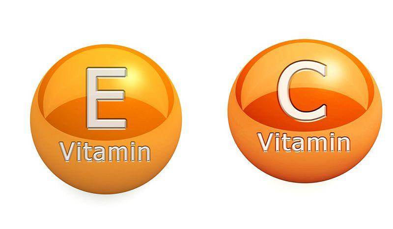 Hiệu quả của việc uống kết hợp vitamin C và vitamin E