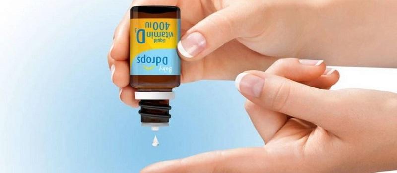 Đây là sản phẩm bổ sung vitamin D dành cho trẻ sơ sinh dưới 1 tuổi