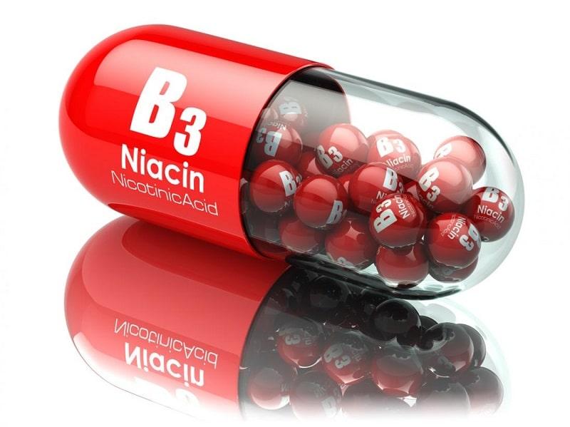 Vitamin B3 có tác dụng loại bỏ các bã nhờn và phòng ngừa mụn
