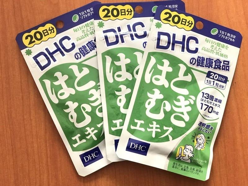 Viên uống DHC trắng da có chứa nhiều vitamin E
