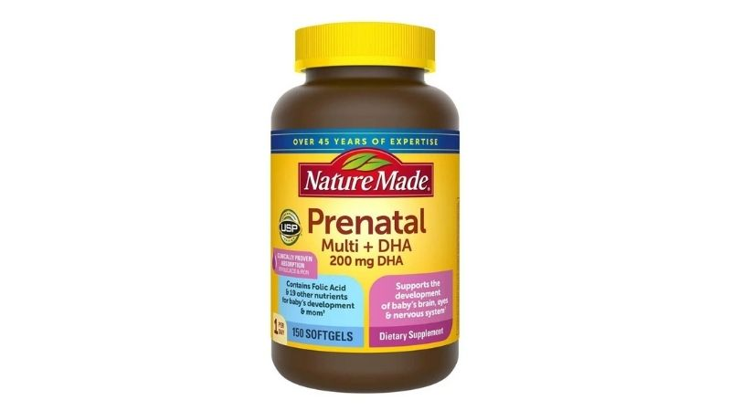 Nature Made Prenatal Multi DHA - Vitamin cho bà bầu