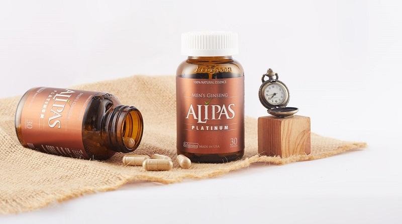 Sử dụng thực phẩm chức năng như sâm Alipas Platinum để cải thiện