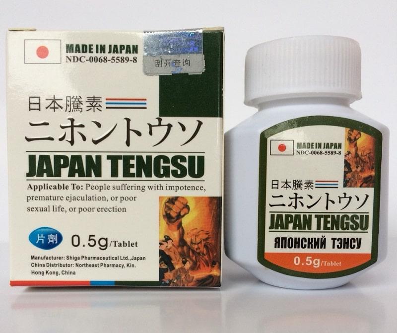 Sử dụng thực phẩm chức năng như Japan Tengsu để cải thiện sinh lực
