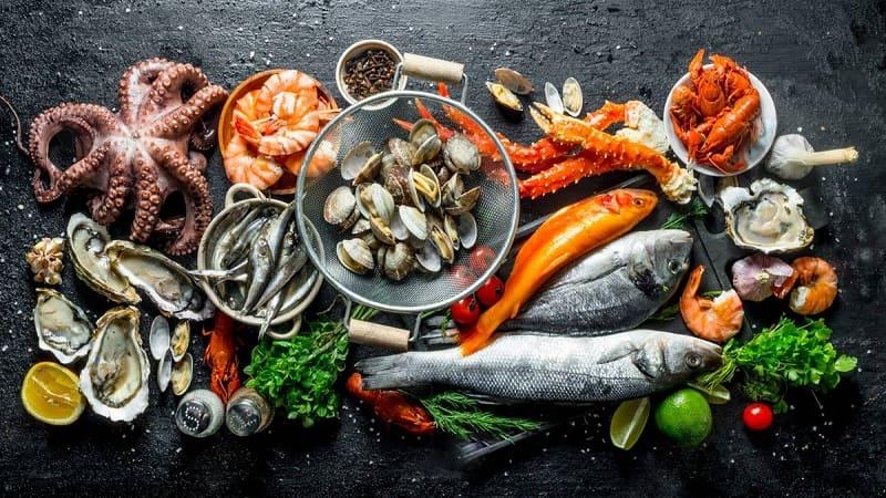 Nên tăng cường bổ sung các loại hải sản