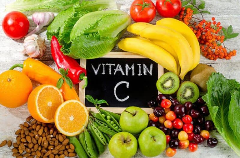 Sử dụng các thực phẩm nhiều vitamin C
