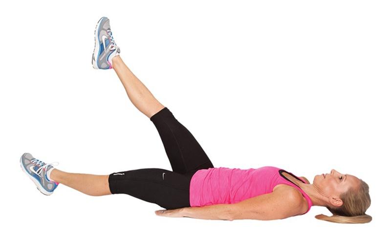 Bài tập nâng cao chân ăng sức mạnh cho cơ đùi, từ đó giúp cơ được chắc khỏe