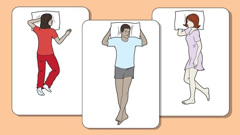 Ngủ sai tư thế cũng là một trong số những nguyên nhân khiến bạn khó ngủ, ngủ trằn trọc.