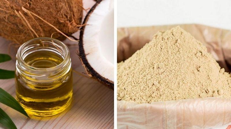 Cách trị tàn nhang bằng dầu dừa và cám gạo đem đến hiệu quả rõ rệt