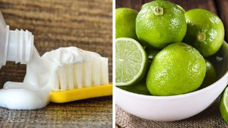 Kem đánh răng kết hợp với chanh được đánh giá có hiệu quả cao