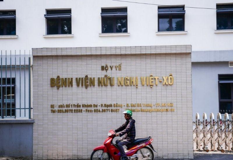 Bệnh viện Hữu Nghị Việt Xô địa chỉ khám bệnh uy tín