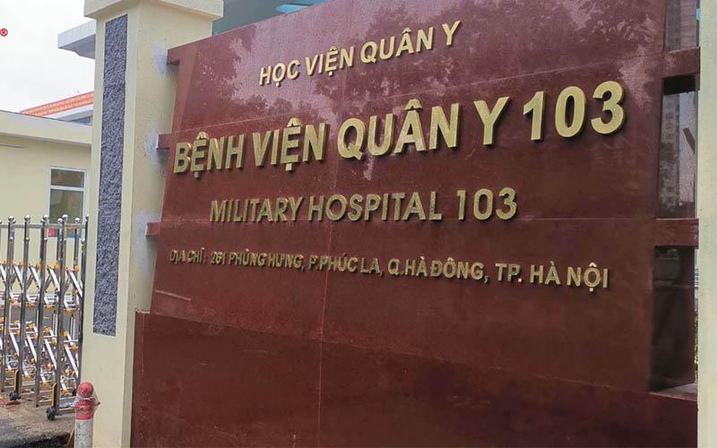 Đau cổ vai gáy khám ở đâu - Bệnh viện Quân y 103