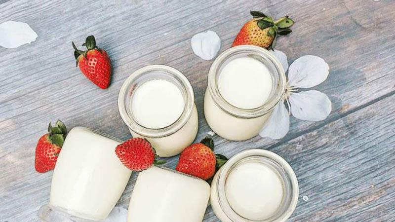 Đau dạ dày ăn sữa chua chữa bệnh rất tốt