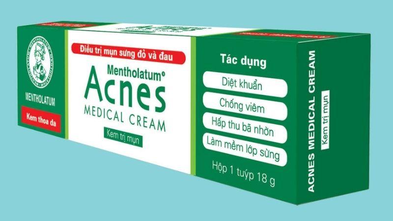Kem làm giảm mụn ẩn Acnes