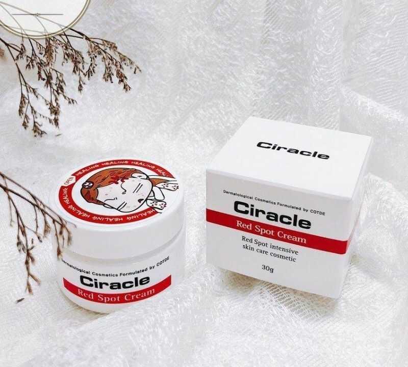 Sản phẩm Ciracle Red Spot Cream trị mụn bọc hiệu quả