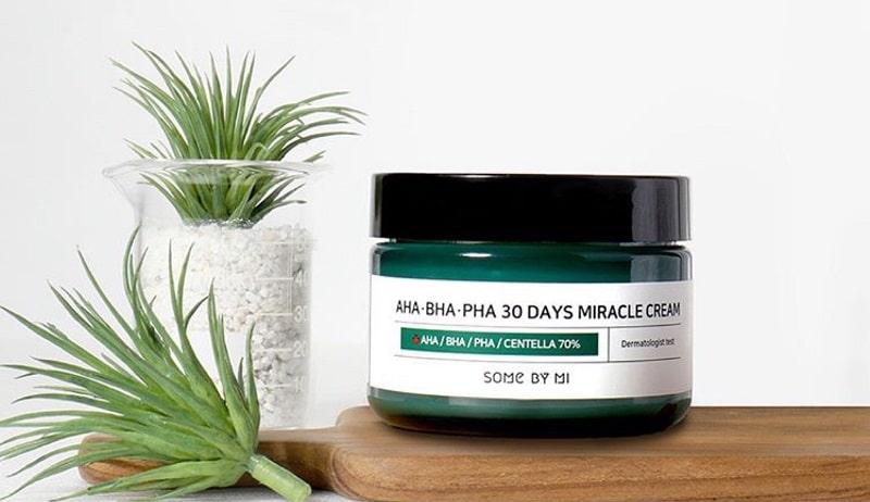 AHA-BHA-PHA 30 Days Miracle Cream - Kem giảm mụn thâm Hàn Quốc hiệu quả