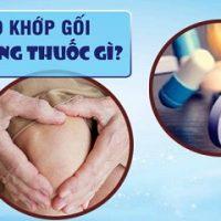 Bị khô khớp gối nên uống thuốc gì là vấn đề nhiều người quan tâm
