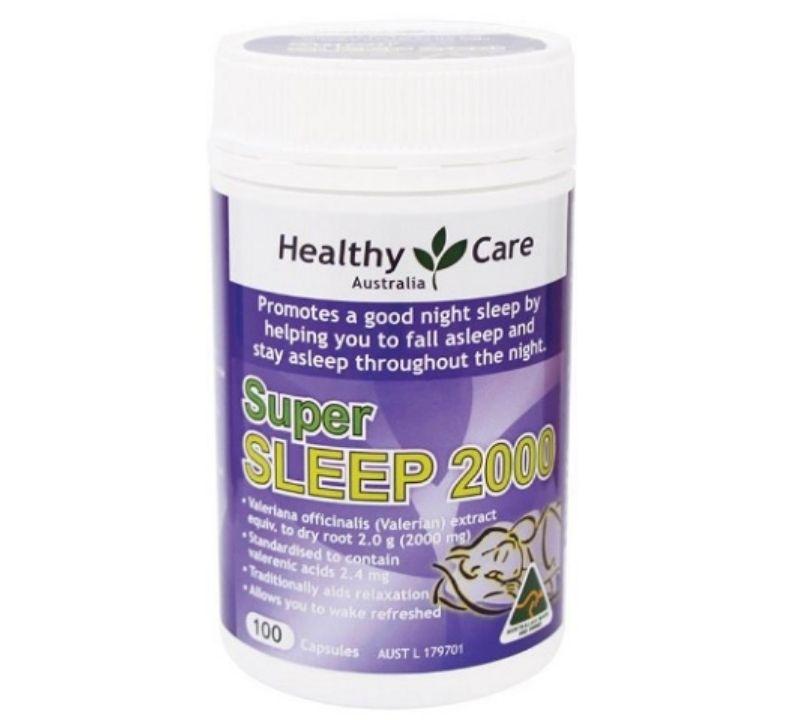 Sản phẩm hỗ trợ giấc ngủ cho người già