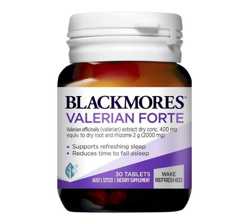 Người già mất ngủ nên uống thuốc gì - Blackmores Valerian Forte 2000mg