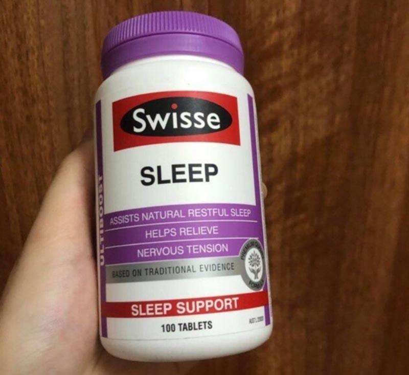 Người già mất ngủ nên uống thuốc gì - Swisse Sleep