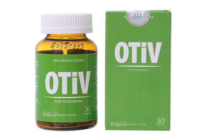 Người già mất ngủ uống thuốc gì - Viên uống OTiV