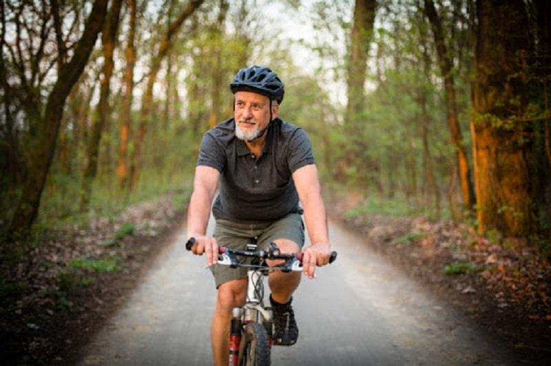 Đạp xe không chỉ hỗ trợ cải thiện bệnh mà còn rất tốt đối với sức khỏe tổng thể