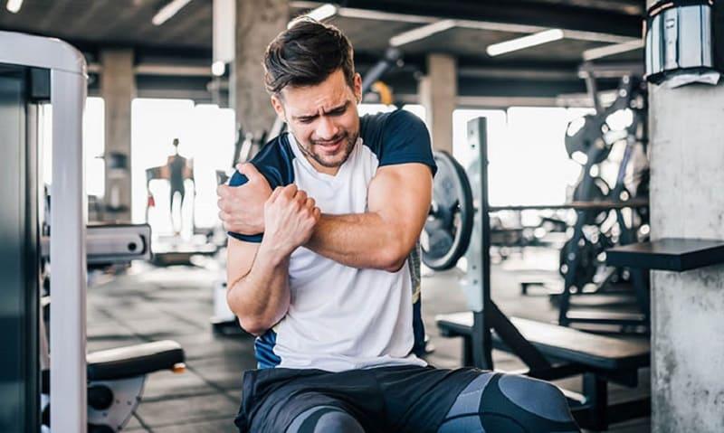 Cần tập với cường độ phù hợp để không gây đau nhức hơn