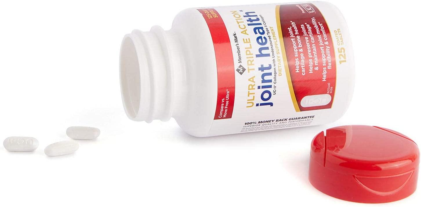 Thuốc chống loãng xương của Mỹ Ultra Triple Action Joint Health Member's Mark