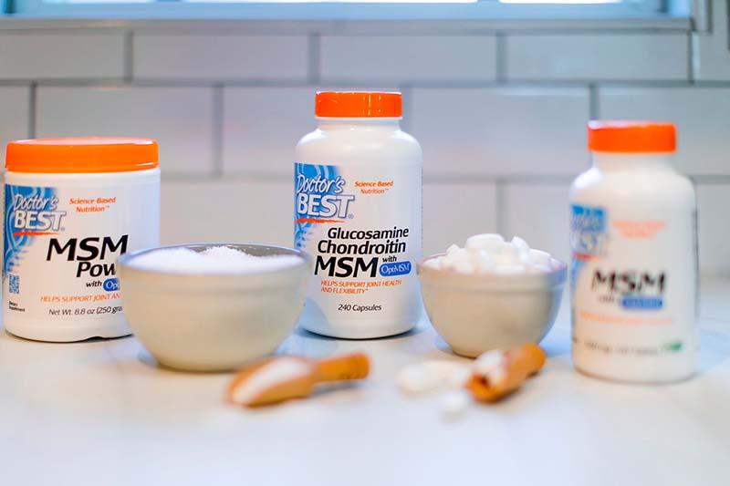 Thuốc chống loãng xương của Mỹ tốt nhất hiện nay - Doctor's Best Glucosamine Chondroitin MSM