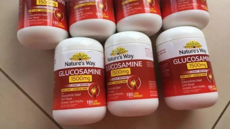 Nature's Way Glucosamine Joint Repair giúp xương khớp khỏe mạnh