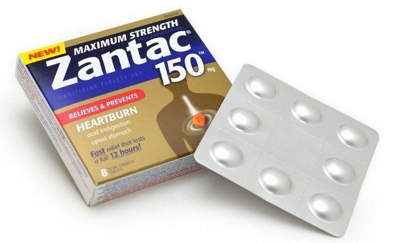 Zantac là viên uống hỗ trợ bệnh dạ dày được tin dùng nhiều nhất thời gian gần đây