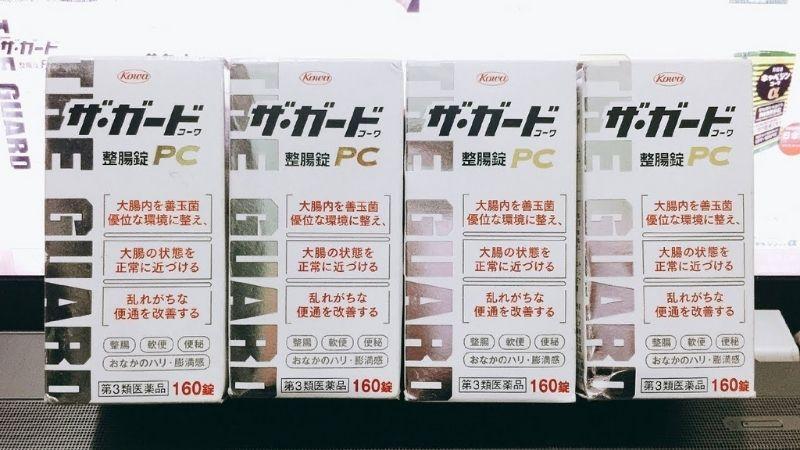 Kowa The Guard là dòng sản phẩm có thể hỗ trợ điều trị viêm đại tràng của Nhật rất được ưa chuộng
