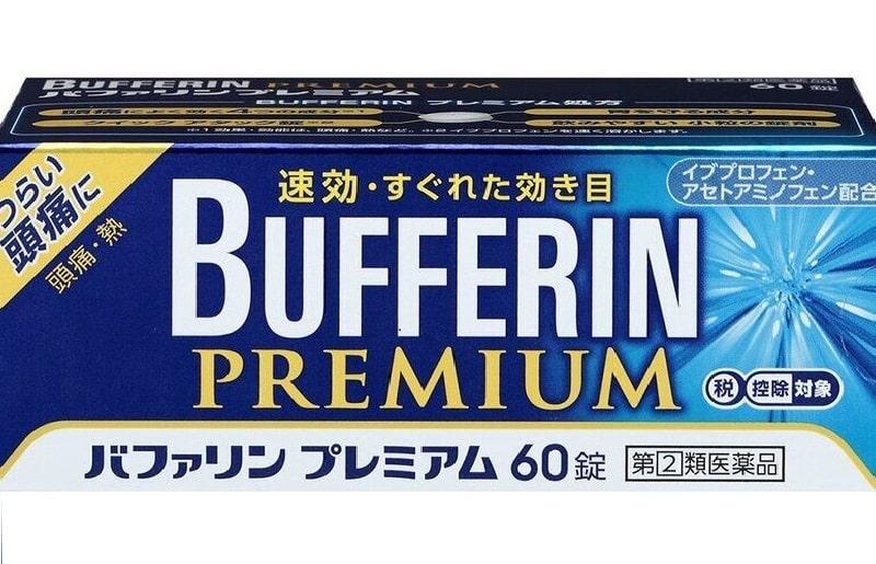 Bufferin Premium là thuốc đau đầu nổi tiếng tại Nhật Bản và được bác sĩ khuyên dùng