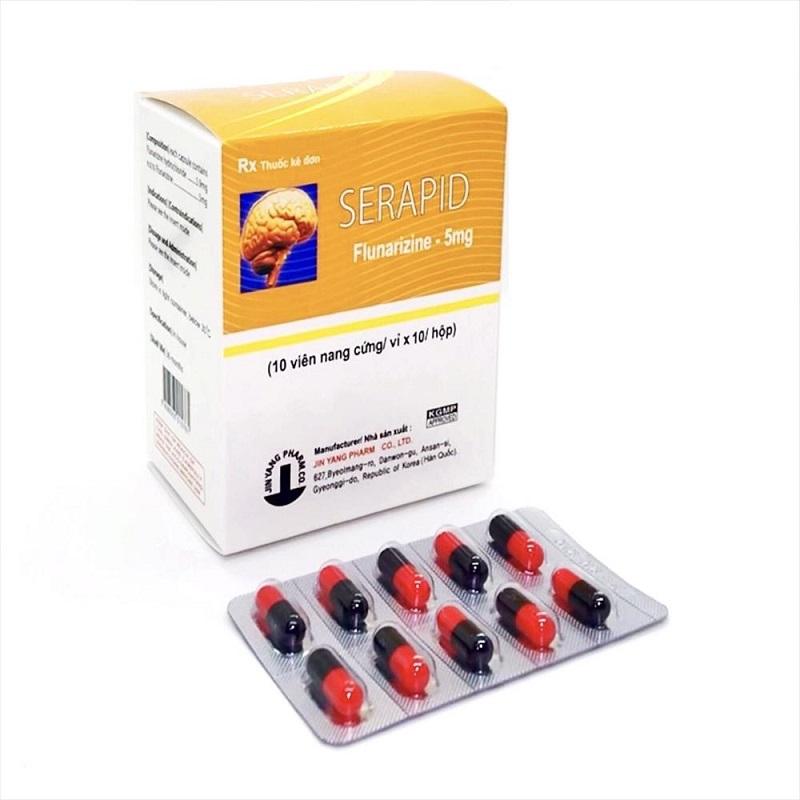 Ngoài điều trị đau đầu, Serapid còn cải thiện một số vấn đề về hệ thần kinh khác