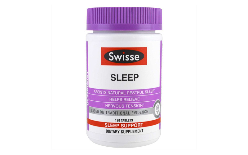Viên uống trị mất ngủ bằng thảo dược Swisse Sleep được ưa chuộng hiện nay