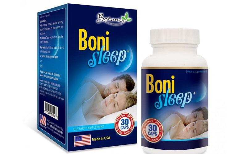 Thực phẩm chức năng Boni Sleep có nguồn gốc thảo dược