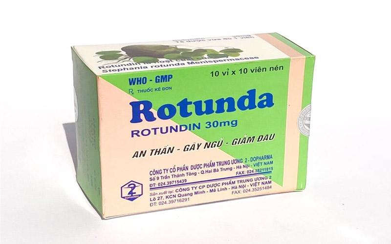 Viên uống hỗ trợ chứng mất ngủ Rotunda