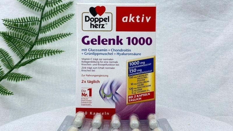 Doppelherz Aktiv Gelenk 1000 cũng nhận được nhiều đánh giá tốt từ người dùng