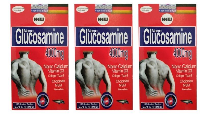 Bạn có thể tham khảo viên uống Nano Glucosamine