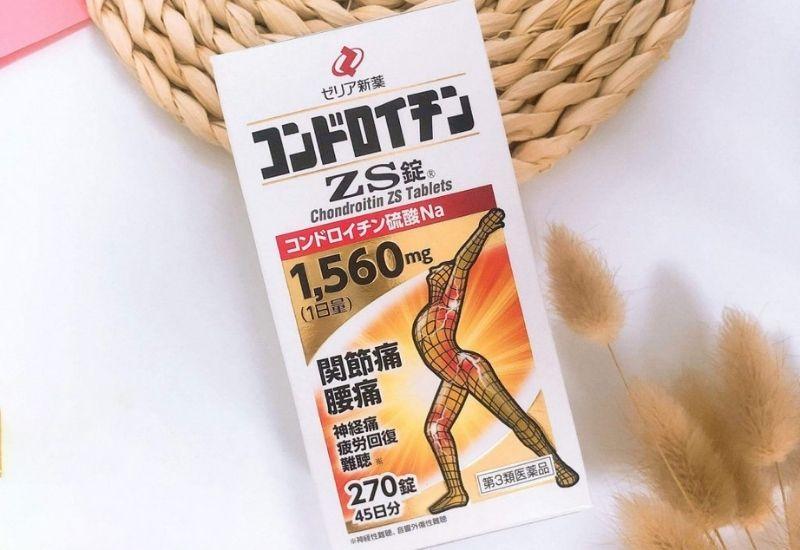 Viên uống ZS chondroitin tốt cho sụn khớp