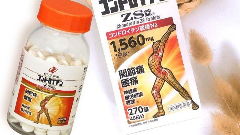 Hỗ trợ trị loãng xương của Nhật ZS Chondroitin