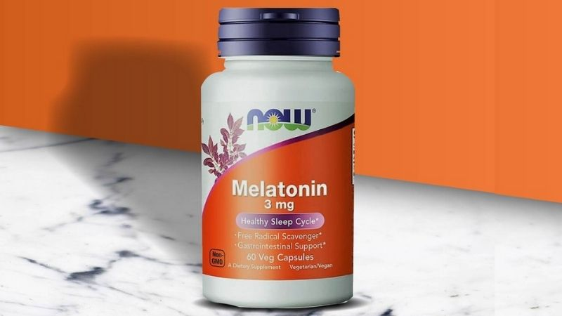 NOW Melatonin 3mg - Thực phẩm hỗ trợ sức khỏe