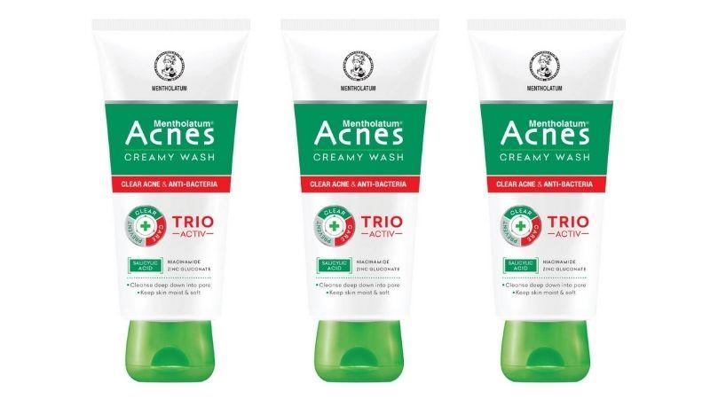 Acnes Creamy Wash - Sữa rửa mặt giảm mụn